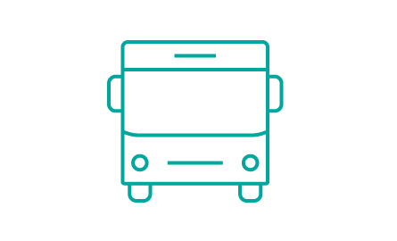 Vector graphic of a bus