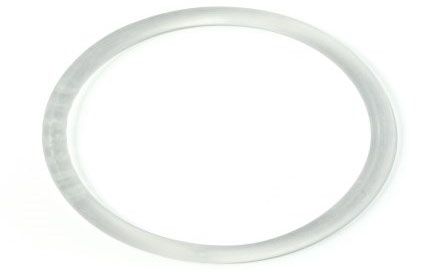Colourless vaginal contraceptive ring