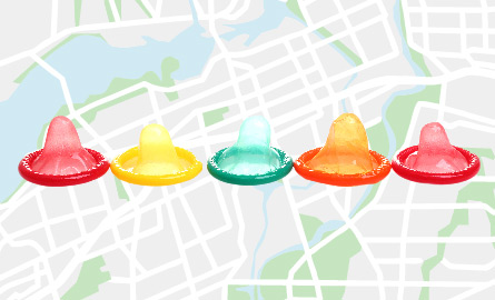 Where to find FREE condoms in Ottawa